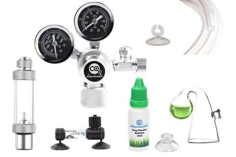 Kit sistema acquario co2 co2 supermarket for Piccoli acquari completi